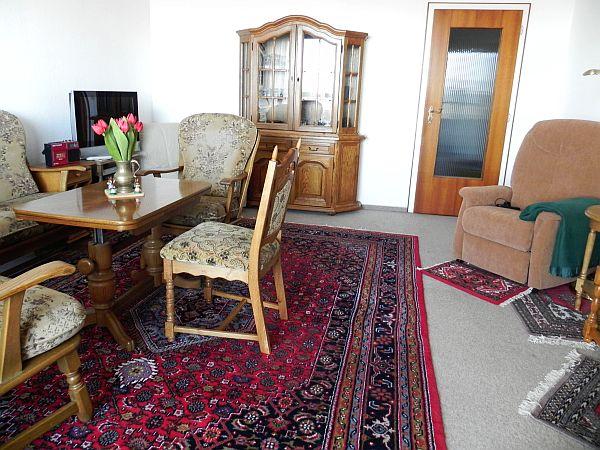 3 zimmer ferienwohnung im b sumer hochhaus wohnen mit for Verstellbarer fernsehsessel